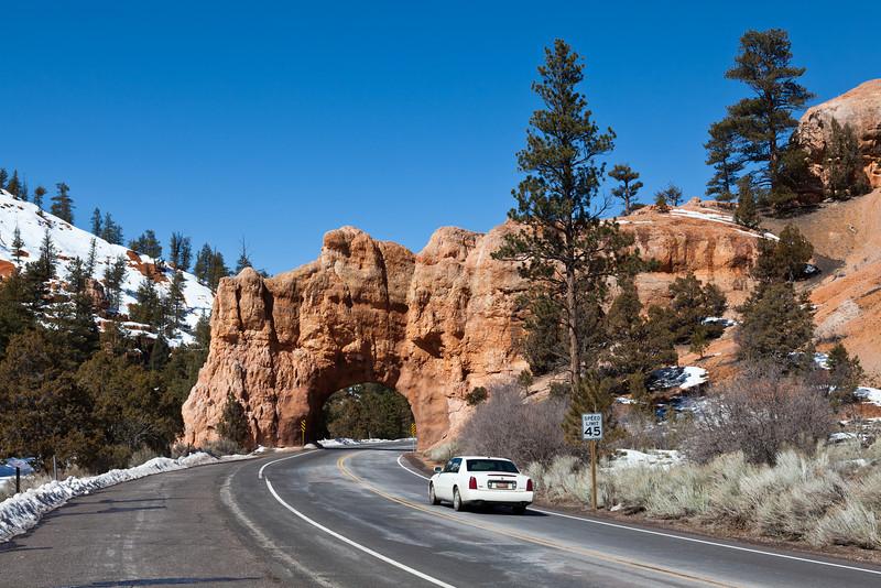 Near Bryce Canyon