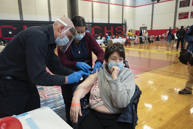 Virus Outbreak Connecticut Vaccines