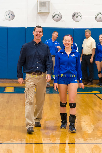FHS Volleyball Teacher Appreciation night