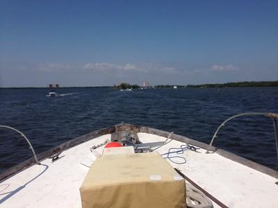 "Trumpy Yacht ""Drifter"" in Havana, Cuba with new owner 12-13-16"