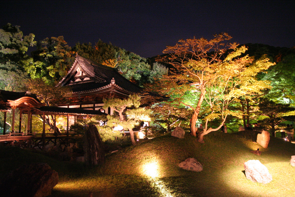 Kodaiji Lightup at Kyoto.