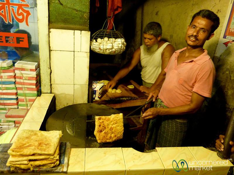 Fried Roti - Khulna, Bangladesh