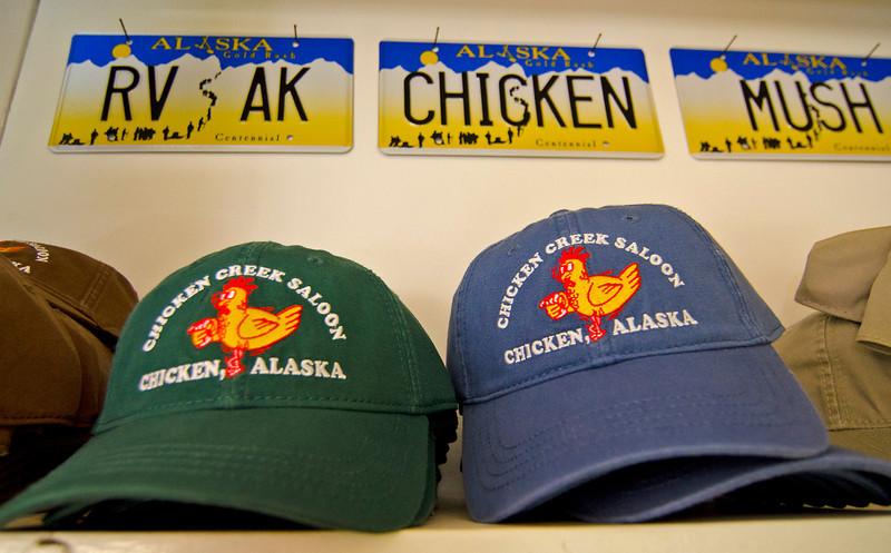Souvenirs. Chicken, Alaska.
