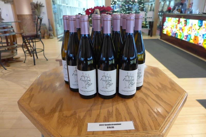 Freedom Run Winery 2015 Niagara Bench