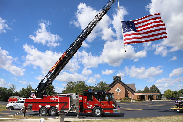 Boone County Fire District Wake Service For Firefighter Colton Gritzmacher