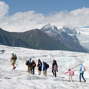 Day Hiking the Root Glacier