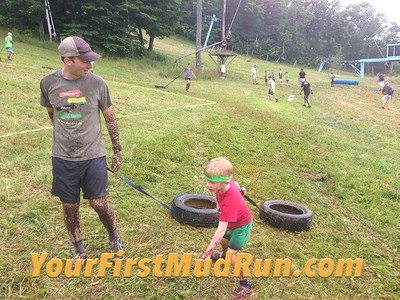 2016 Your First Mud Run at Belleayre Mountain in NY 7/30/2016