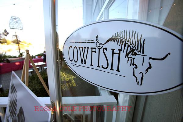 Jill Gordon Celebrates at Cowfish