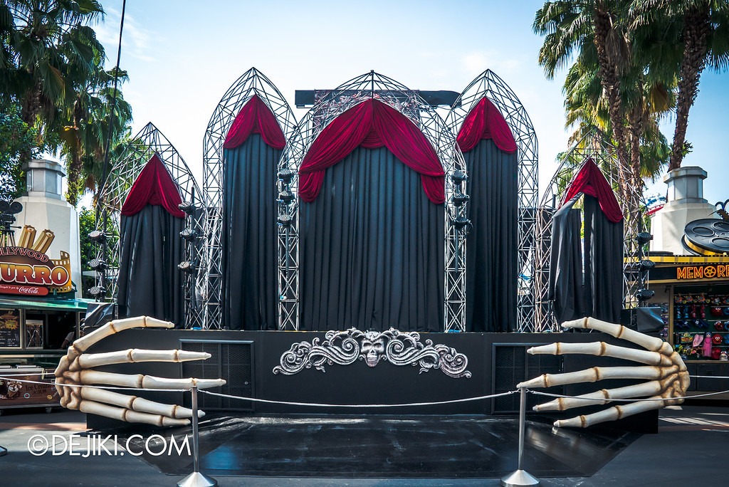 Universal Studios Singapore - Halloween Horror Nights 6 Before Dark Day Photo Report 4 - Opening Scaremony / stage complete
