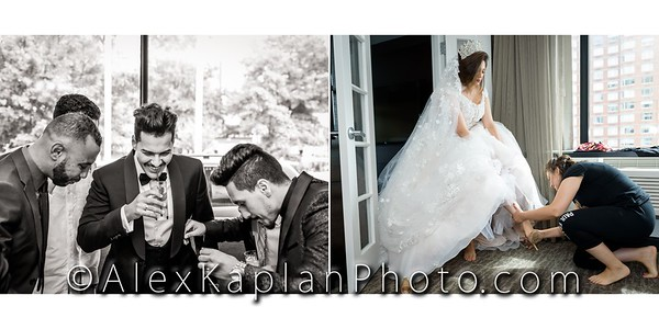 Wedding at St. Abanoub &  Orthodox Church by Alex Kaplan Photo Video