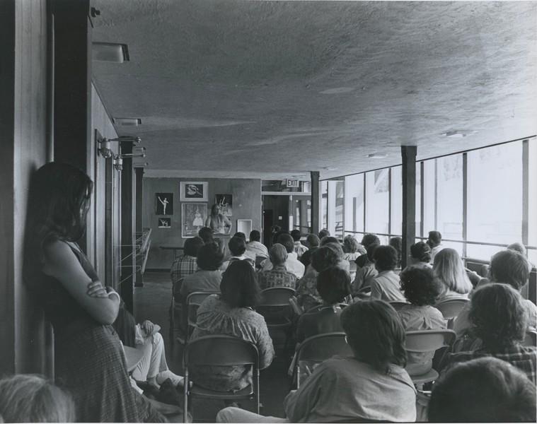 1979 - Frances Fitzgerald speaking.jpeg