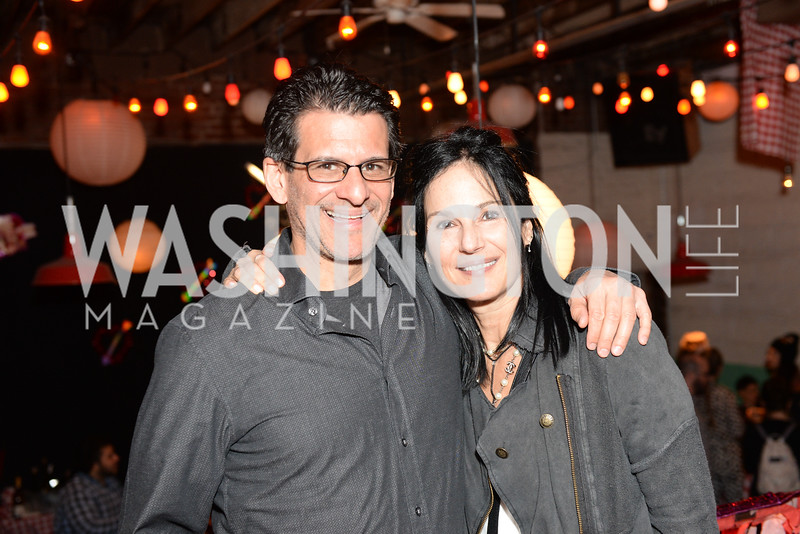 Carlos Bachrach, Deborah Kalkstein, Transformer's 2nd Annual Heartbreaker's Ball, Comet Ping Pong, February 17, 2018, photo by Ben Droz.