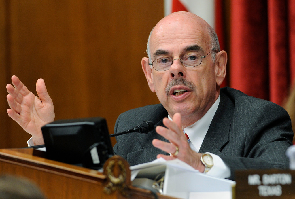 . In this July 30, 2009 file photo Rep. Henry Waxman, D-Calif.,  chairman of the Energy and Commerce Committee speaks during a hearing on  Capitol Hill in Washington.   (AP Photo/Susan Walsh, File)