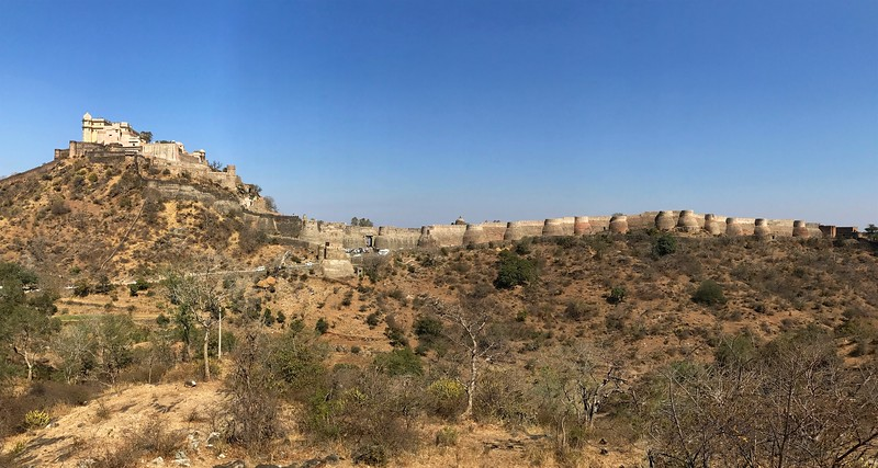The 15th century Kumbhalgarh Fort - Rajasthan