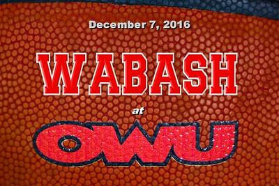 2016 Wabash at Ohio Wesleyan (12-07-16)