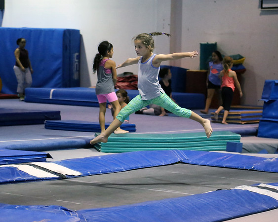 10-18-16 Rylie the Gymnast - Flippin' Out