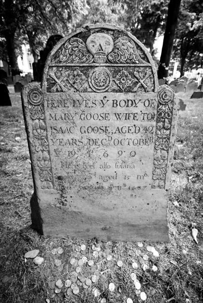 Mother Goose's Gravestone?
