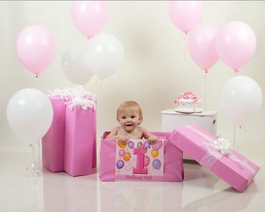 Sydney's 1st birthday