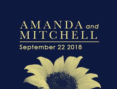 Amanda & Mitchell 2018