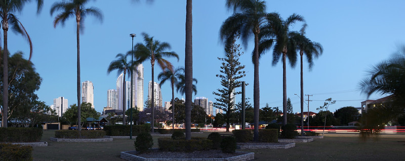 Chevron Island Panorama October 12th 2012