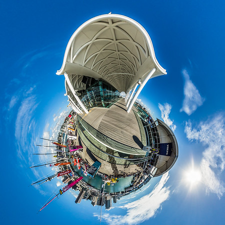 Auckland City Tiny Planet Photos