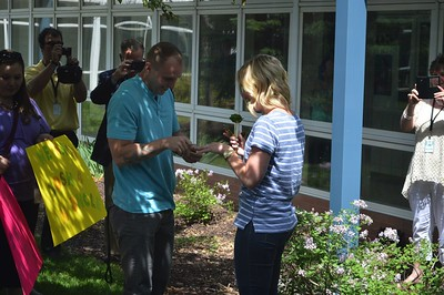 Miss Mahlman Gets Engaged- Humann Elementary