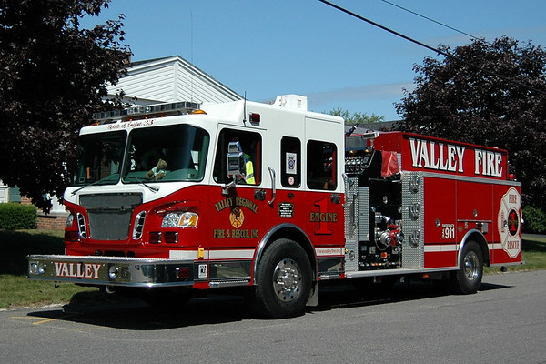Apparatus  of  Valley Regional  Fire & Rescue  ,, Luzerne County, PA