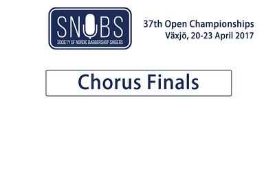 2017-0421 SNOBS - Chorus Finals