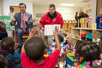 Book Reading - Charles Drew Elementary - November 15, 2016