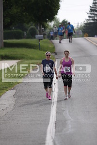 2015 10 Miler On the Course