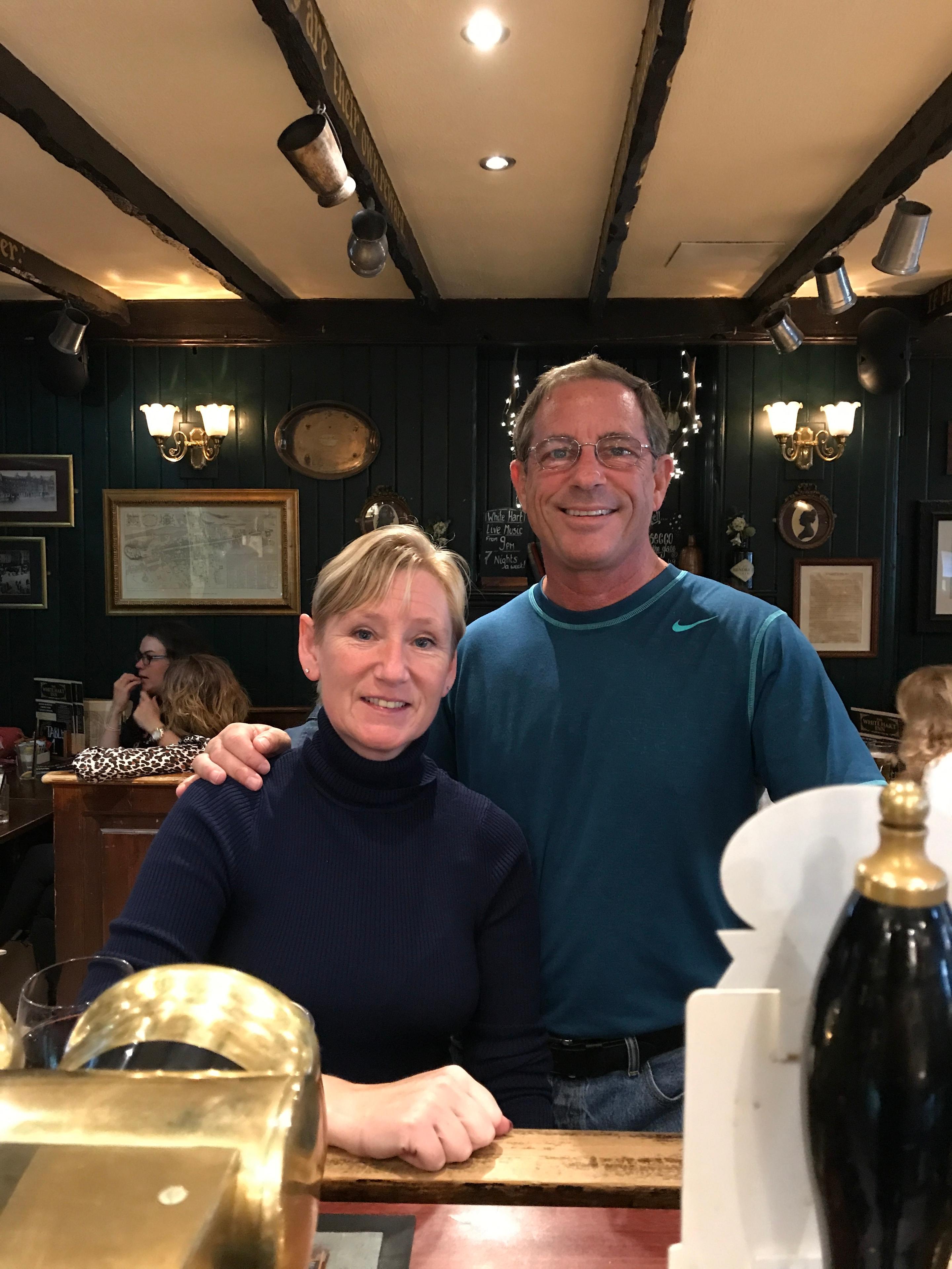 Off Tour - Edinburgh Area - Rick and Ann Graham