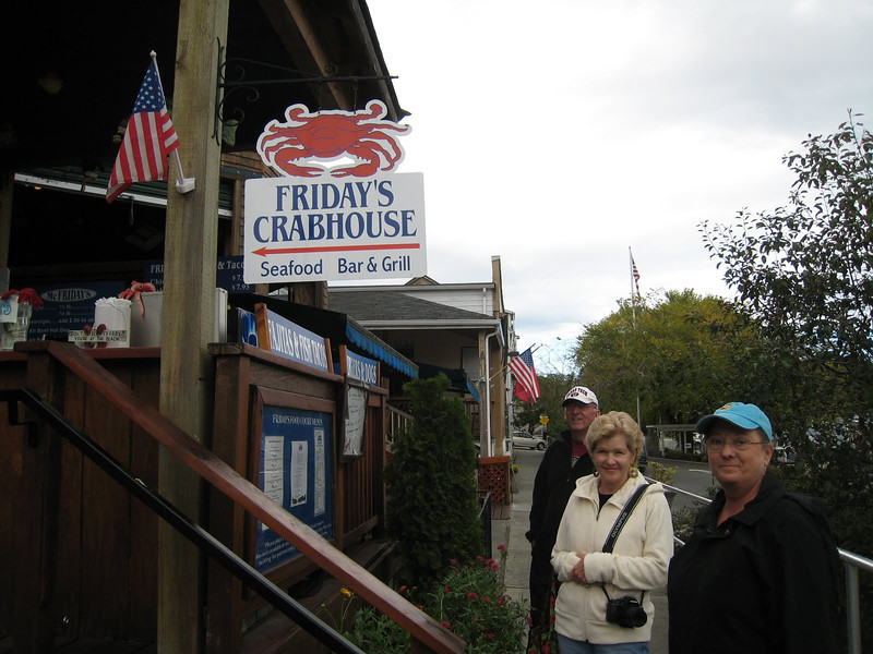 Pub Lunch - Day 8Friday's Crabhouse, Friday Harbor