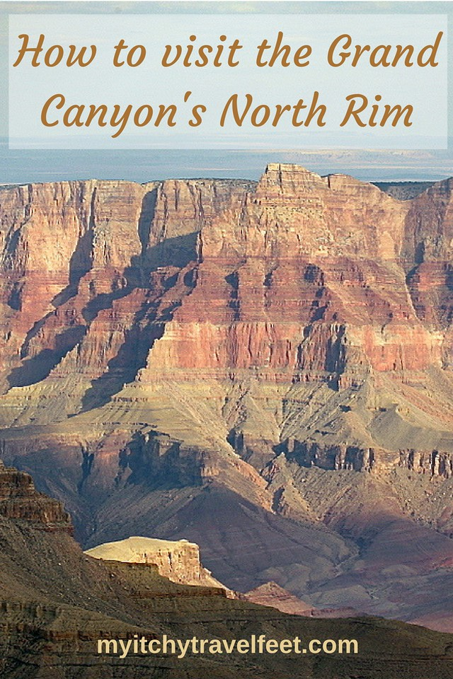How to visit the North Rim of the Grand Canyon. It's a must-see when you travel to Arizona. #grandcanyon #boomertravel #traveltips #arizona