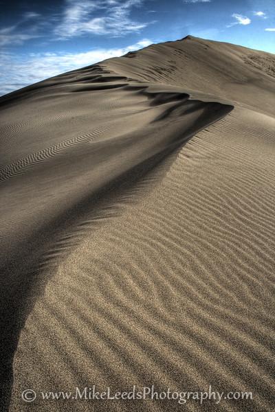 Bruneau Sand Dunes in Idaho. HDR