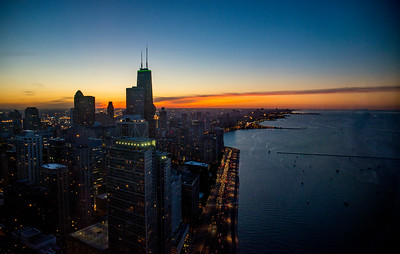 Chicago from 68 Floors Up