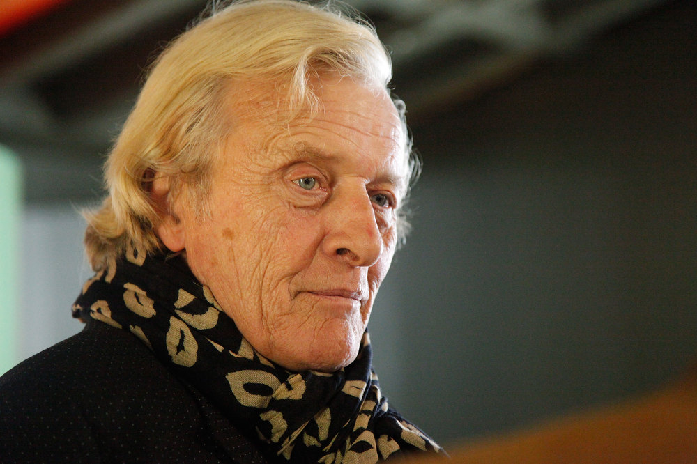 "Description of . Actor Rutger Hauer attends a screening of ""Cirkus Columbia\"" at the SVA Theatre 2 on October 20, 2011 in New York City.  (Photo by Amy Sussman/Getty Images)"