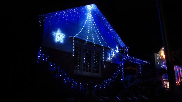 Second St Ashbury Christmas Lights