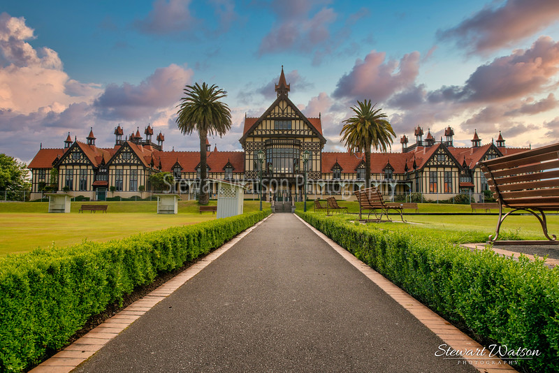 The Rotorua Museum Te Whare Taonga o Te Arawa is a local museum and art gallery in the Government Gardens near the centre of Rotorua, Bay of Plenty