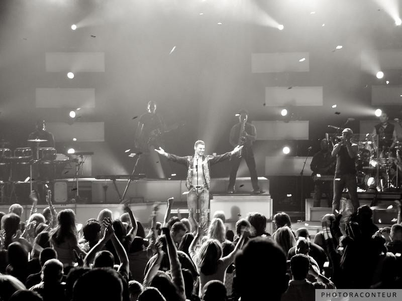 Ricky Martin in Las Vegas, January 2006  (Photo by Benjamin Padgett)