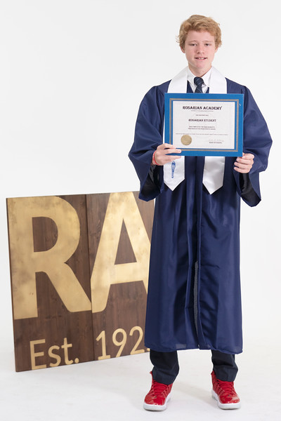 Randolph Family Graduation Photos May 2020