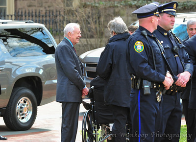 Jimmy Carter at Lafayette College