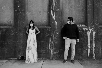 Oak Park Engagement   Danai & Josh