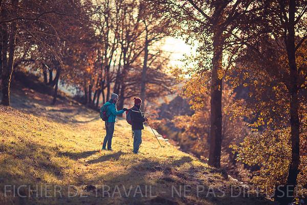Photothèque | Rando en montagne noire, pique-nique, resto