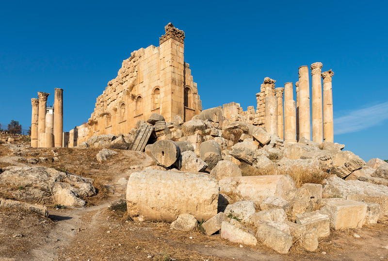 Temple of Zeus, Jerash