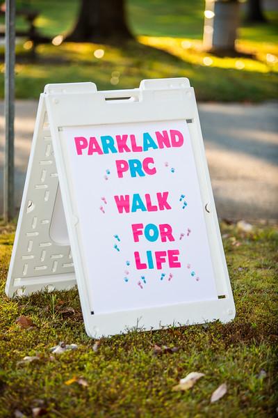 Parkland PRC Walk for Life 2019