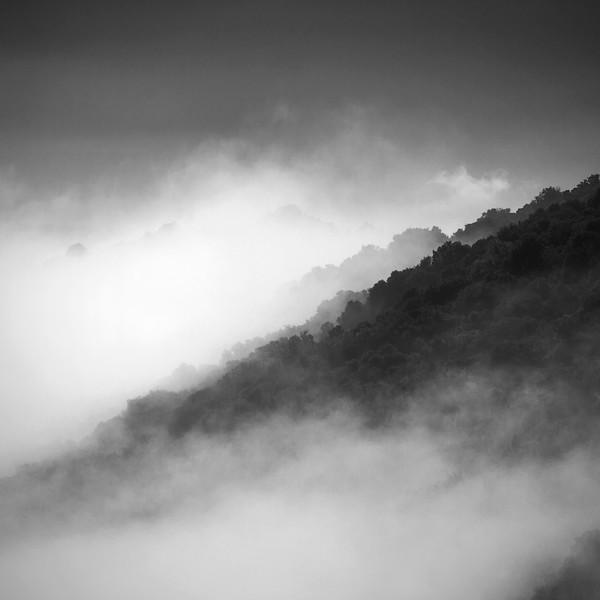 Mist In The Gorges de l'Ardeche