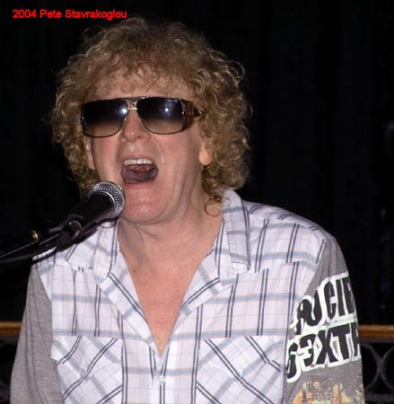 Ian Hunter at the Downtown 12/11/2004