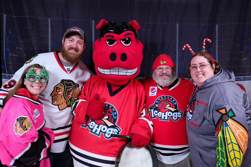 Icehogs Holiday Card