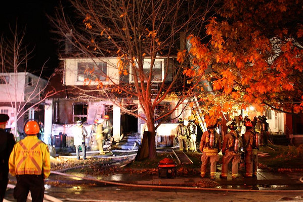 October 29, 2010 - 2nd Alarm - 33-35 Currie Ave.