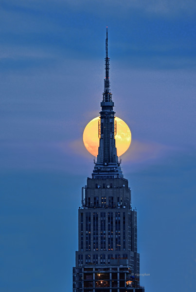 Empire State Building Moonrise
